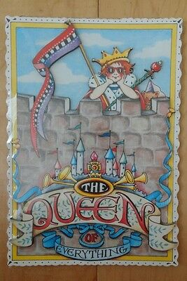 Mary Engelbreit Queen of Everything Cards to Keep Stand Up 3D Plaque Sunrise NIP