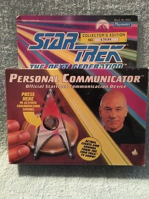 Star Trek The Next Generation PERSONAL COMMUNICATOR Collector's #158373 In Box
