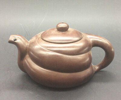 Chinese hand-made snake Yixing teapot a5000