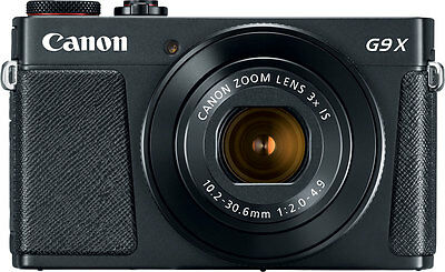 NEW Canon PowerShot G9 X Mark II 20.1MP  Camera with Case and Memory Card! black