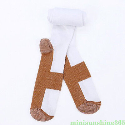 Women/Man Knee Socks Copper Infused Fibers Compression Stockings 3 Colors S-2XL