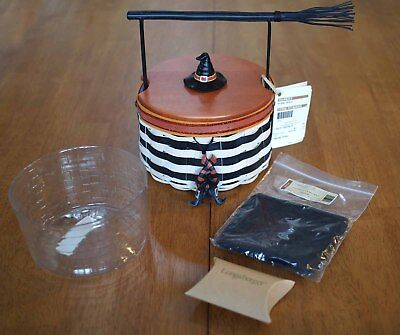 Longaberger Wicked Witch 2013 Halloween Basket - NEW