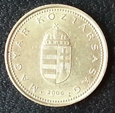 Hungary Magyar 1 Forint 2006 World Coin Preeuro Money Great Details