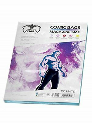 Ultimate Guard Comic Bags Resealable Magazine Size (100) (H4z)