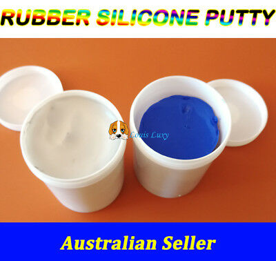 1kg Silicone putty rubber mix food grade mould making general purpose soap cake
