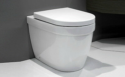Wall faced toilet