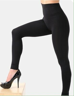 NEW Belly Bandit Mother Tucker Black Compression Leggings SZ Small