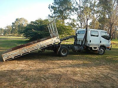 Mitsubishi Canter Duel Cab Tilt And Slide Tray, Tipper