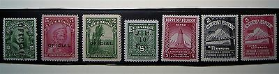 Ecuador Stamps Small Collection ... Oficial OP,s & Aereo Mint Stamps
