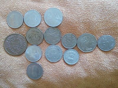 World coins from India x14