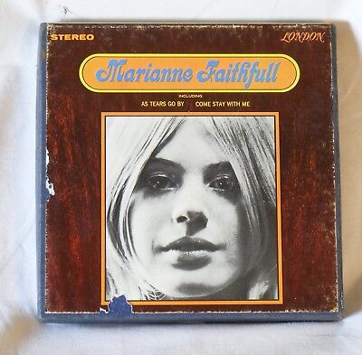 Marianne Faithful  reel to reel tape very good condition