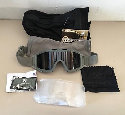 New-Us-Military-Issue-Revision-Desert-Locust-Goggle-Kit-Foliage-Green-Paintball