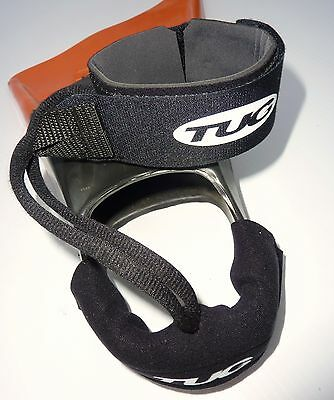 TUG Bodyboard leash fins flippers savers with strap pads (fins not included)