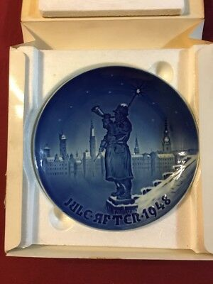 B&G Royal Copenhagen Denmark After July 1948 Collector Blue Plate