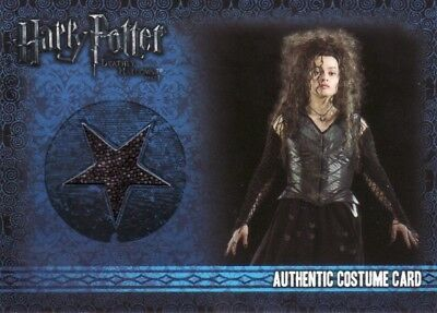 Harry Potter & the Deathly Hallows Part 1 Bellatrix Lestrange's C14 Costume Card