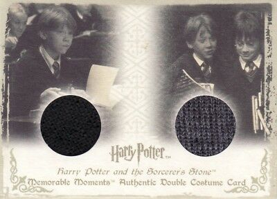 Harry Potter Memorable Moments 1 Ron Weasley's DC1 Dual Costume Card 310/310