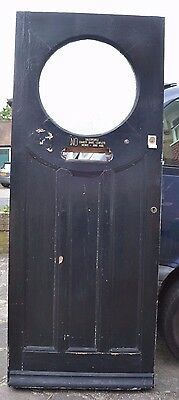 Round (potentially leaded light stained glass) door 1920s/30s. R521. DELIVERY!!!