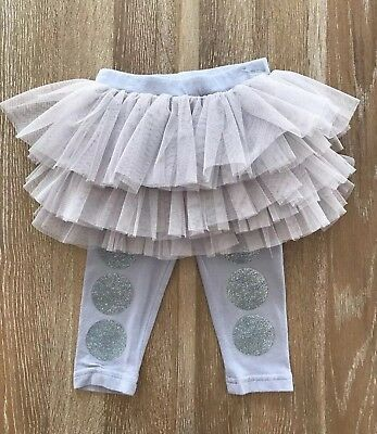 Rock your Baby Grey Tutu Tights Size 0 (6 – 12 Months)