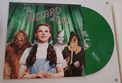 The Wizard Of Oz OST Soundtrack Record Store Day RSD 2014 Emerald Green Vinyl NM