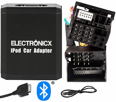Adapter AUX Bluetooth iPhone iPad iPod Ford 12 + 40 Pin