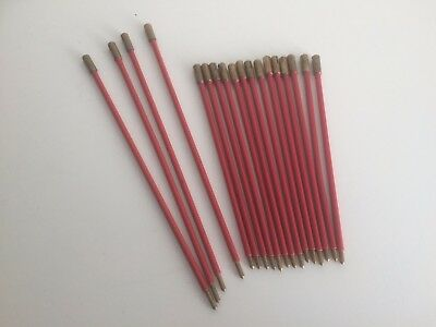 Vintage Quantity of Test Prods - RED  Qty 18