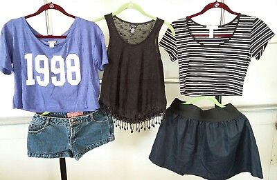 Women's Miley Cirus, Rue 21, ambiance apparel, and Mossimo Clothing Lot. MEDIUM