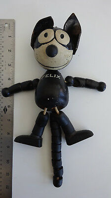 Very Rare Original 1925 Felix the Cat Schoenhut 8 inch articulated doll