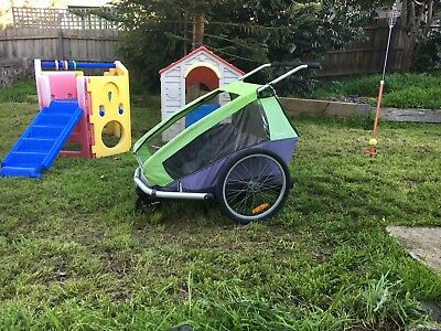 Croozer Trailer 3 In 1 For 2 Kids
