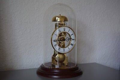 HERMLE Mantel Clock (1983) - Skeleton. Made in Germany