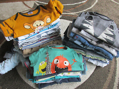 Huge Lovely Baby Boy Bundle Size 0-3-6 months 52 items