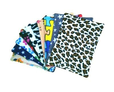 10x Waterproof Mixed Pee Pads For Guinea Pigs And Small Animals.