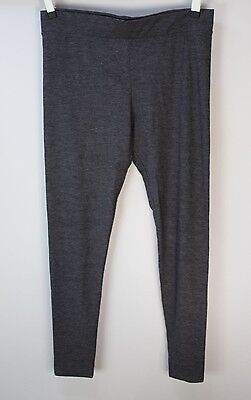 TOPSHOP Maternity Gray Wide Waistband Leggings size US 8