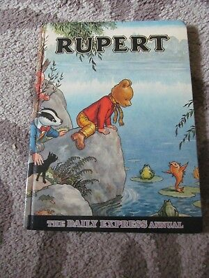 Book- Rupert. The Daily Express Annual. (1969)