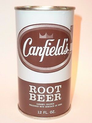 12oz Canfield's Root Beer Flat Top *** Mint Condition!! ***