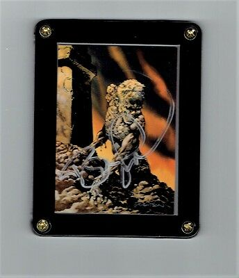 Bernie Wrightson Series Two More Macabre Signed Card #1 in Screwdown Display