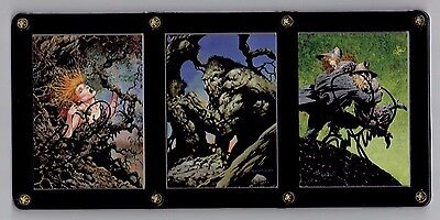 Bernie Wrightson Series Two More Macabre Signed Cards in 3 Card Display