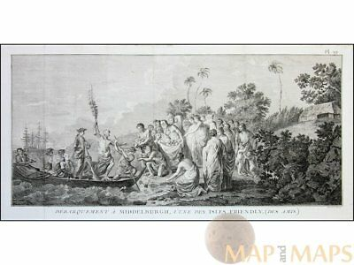 Capt. Cook's voyage Tonga Friendly Islands Cook 1778