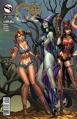 GRIMM FAIRY TALES Zenescope OZ Age of Darkness Cover A J. Scott Campbell Cover A