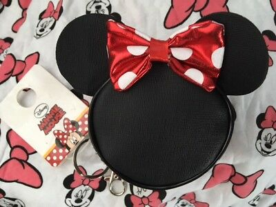 Primark DISNEY MINNIE MOUSE Coin Purse Keyring