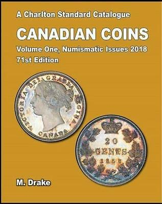 2018 Charlton Standard Catalogue Canadian Coins Vol. 1 - Numismatic Issues NEW