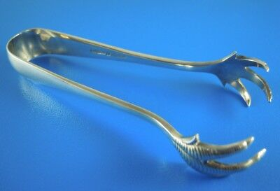 Mappin & Webb Large Silver Plate Claw Sugar Tongs / Nips