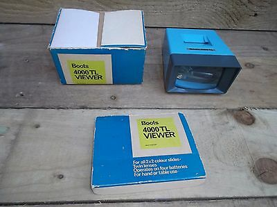 Vintage Boots 4000 Tl Slide Viewer - Boxed