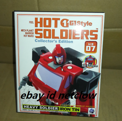 Transformers Hot Soldiers HS07 Ironhide in Stock