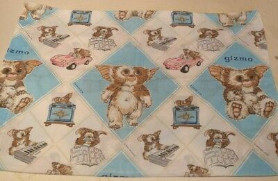 9 Vintage cushion/pillowcase covers from Disney,film,TV including Gizmo & others