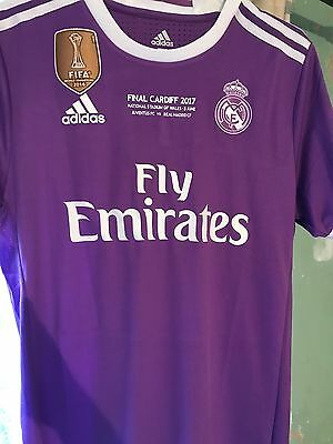 Real Madrid Toni Kroos Champions League Cup Final 2017 match ready shirt