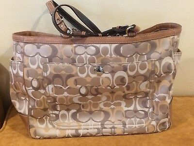 Authentic Coach Baby/Diaper Bag CO6K-6429-Used
