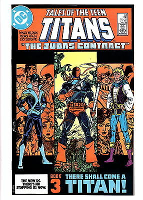 Tales Of The Teen Titans July 1984 1St App Nightwing Jerico + Deathstroke