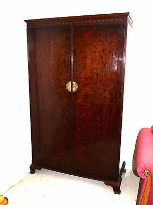 Lovely Antique Double Wardrobe By Waring & Gillow