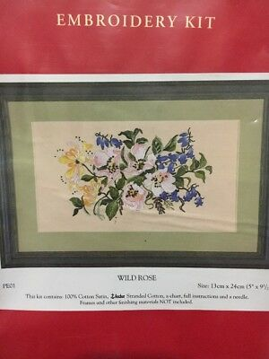 Anchor Embroidery Kit - Wild Rose