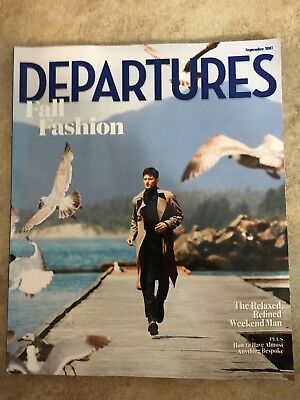 Departures Magazine, September 2017, Fall Fashion Issue - Free Shipping